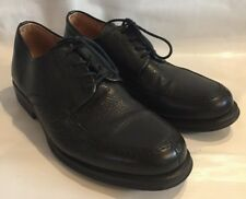 Sandro Moscolini Men's Black Leather Lace Up Oxfords Sz 11 EEE 3060 Comfort