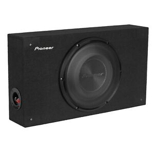"""Pioneer TS-A2500LB 10"""" Shallow Compact Pre-Loaded Sealed Enclosure Car Subwoofer"""