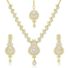 Sukkhi Australian Diamond Stone Studded Necklace Set(2024NADK1300)