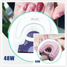 48W Wireless Gel Nail Dryer Red Light Uv Led Nail Lamp Rechargeable Nails Salon