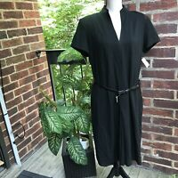Talbots Black Dress Size 14