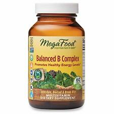 MegaFood Balanced B Complex Multivitamin Dietary Supplement 60 Tablets