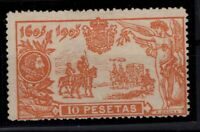 P133300/ SPAIN – DON QUIXOTE – EDIFIL # 266 MINT NO GUM – CV 330 $