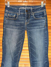 AMERIAN EAGLE WOMEN'S KICK BOOT STRETCH JEANS ~ SIZE 0 REGULAR