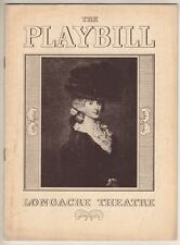 "Paul Osborn  Playbill  1938  ""On Borrowed Time""  Dudley Digges & Frank Conroy"