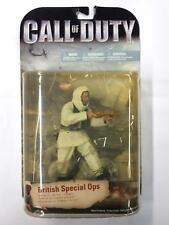 Call Of Duty BRITISH SPECIAL OPS With Golden Gun Action Figure McFarlane Rare