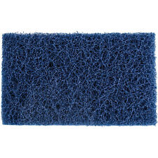 """5 Scrubble by Acs S088 6"""" x 3 1/2"""" Extra Heavy-Duty Blue Scouring Pads"""