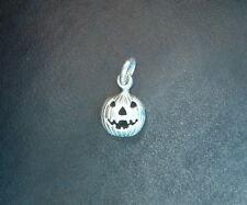 Piccola zucca di halloween ciondolo in ARGENTO 925 sterling silver