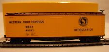 HO Scale Accurail #4803 40' Western Fruit Express Wood Reefer