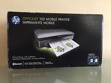 NEW HP Officejet 100 Mobile Color Inkjet Printer CN551A Bluetooth Full Read Desc