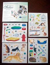 RARE CREATIVE MEMORIES ANIMAL LOVER STICKERS BNIP & NLA