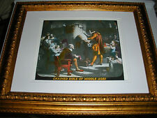 "C.T. Russell PHOTO-DRAMA OF CREATION photo ""Chained Bible"" Watchtower IBSA"
