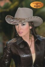 NEW Montecarlo Bullhide ULTIMATE COWGIRL Womens Wool Western Cowboy Hat LARGE