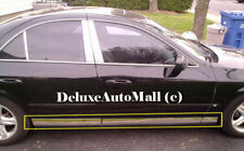 Chrome Stainless Steel Rocker Panel Moldings (6 Pieces) for 2000-2006 Lincoln LS