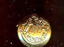 COAT of ARMS  old Single  Cufflink State Seal