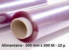 Film étirable alimentaire 300 mm x 300 M 10 µ - 1 bobine en boite micro-ondable