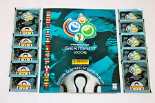 Panini WC WM Germany 2006 06 – 10 Tüten packets sobres + Leeralbum empty album