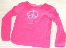 "520 - T-shirt ML 5 ans rose ""I love to love"" OKAIDI"