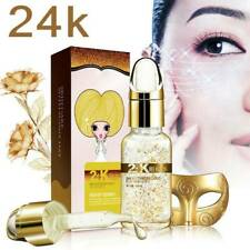 24K Gold Collagen Essence Serum Skin Care AntiAging Moisturizing Liquid Cream UK