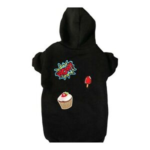 Sweatshirt with fun patches size M