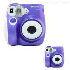 Polaroid PIC-300 ANALOG CAMERA, Instant Built In Flash FILM CAMERA, Purple - NEW