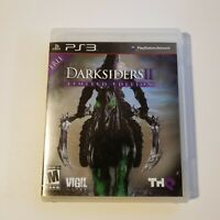 Darksiders II -- Limited Edition (Sony PlayStation 3, 2012) PS3