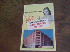1953 Visit Chesterfield's Great Modern Factory Richmond, VA f14