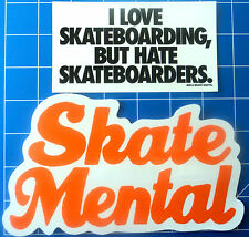 SKATE MENTAL STICKER PACK  #2 **KIT OUT THE BEER FRIDGE!!**