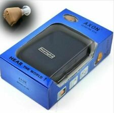 Sound Amplifier Ear Aid Adjustable Tone Axon K-88 Rechargeable Hearing Aid