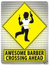 Funny Barber metal street sign great gift beaty salon retro wall decor 022