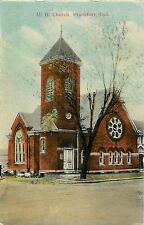 A View of the United Brethren Church, Frankfort IN Indiana 1911
