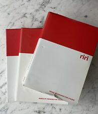 RIRI Zippers Complete Sample Book - Color Card, Chain Teeth, Pulls