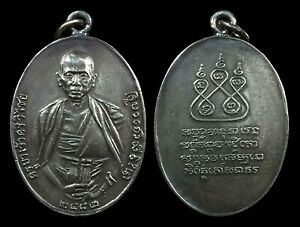 thai amulet Phra Rian Khru Ba Si Wicha b.e.2482 Neur Rae Ngern