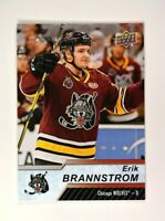 2018-19 18-19 UD Upper Deck AHL Base Short Print #128 Erik Brannstrom SP