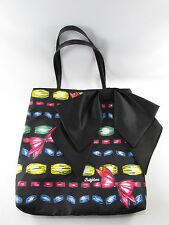 Brighton Bow Tote Take A Beau Black Ribbons Purse Handbag New NWOT