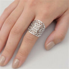 USA Seller Filigree Band Ring Sterling Silver 925 Best Deal Jewelry Size 11