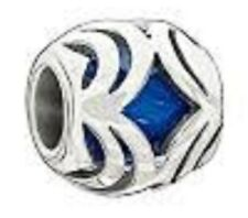 AUTHENTIC CHAMILIA 925 STERLING SILVER OASIS BLUE 2025-0689 NEW BEAD JEWLERY