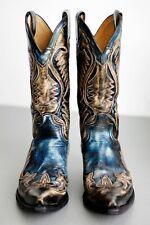 Botas SENDRA cuervo  ( Grey & Blue Cowboy Western Boots ) EU 44 / UK 9½