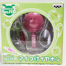 Gundam Mascot Robot Haro Pink Headset Earphone with Microphone Crip JAPAN ANIME