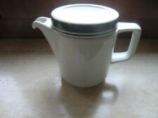 DDR Porzellan Mitropa Kaffee Kännchen Kaffeekanne Blau weiß Dekor 1 Stück