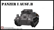 WW2 German Panzer I B Sd.Kfz. 101 PzKpfw I tank World War 2 II WWII moc Germany