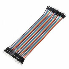 40pcs 20cm male To male Dupont Wire Jumper Cable for Arduino Breadboard