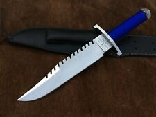 Custom Handmade 5160 Spring Steel Sly II Rambo Knife,Bowie knife,Tactical Knife