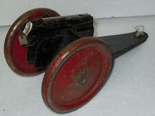 Lincoln Specialties Tin Toy Filed Gun Cannon 1930's Made in Windsor Canada 12in.