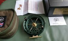 J W YOUNG JOHN WILSON HERITAGE CENTRE PIN REEL STUNNING CONDITION BOXED PAPERS