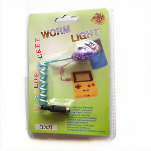 LED Worm Light Lamp GBC GBA Adjustable for Game Boy Color Pocket Game Console