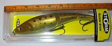 Storm Jointed Kickin' Stick Lure 8 in 2 3/4 oz Dives 1-2 ft Chrome Bunker Musky