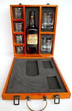 """Jim Beam Devils Cut """"Old Shape"""" Bottle 700ml 90 Proof Ltd Edit Collectors Case!!"""
