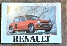 Automobile TOUTE L'HISTOIRE RENAULT Editions   E. P. A.
