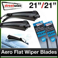 "21"" & 21"" // Aero Flat FRONT Wiper Blades to fit RENAULT CLIO mk2 1998 to 2006"